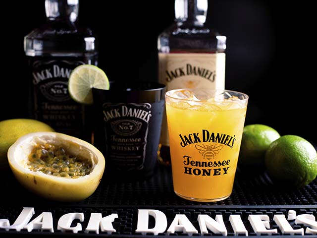 Maracuja com Jack Honey e Limao