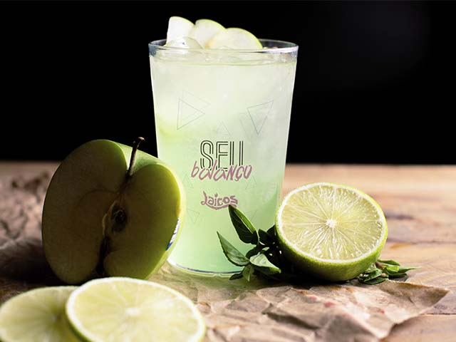 Drink com Limão, Maça verde